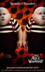 Alice in Wonderland - Tweedledee and Tweedledum