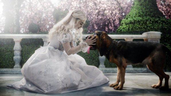 Alice in Wonderland - White Queen, with Bayard