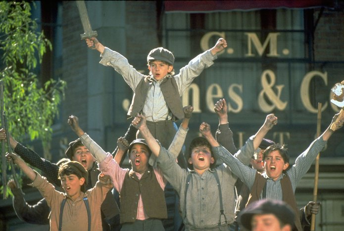 Newsies - Les (OhMyDisney)
