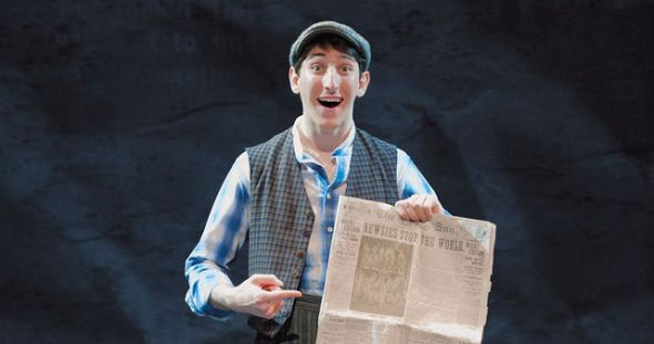Newsies on Broadway - Davey (OhMyDisney)