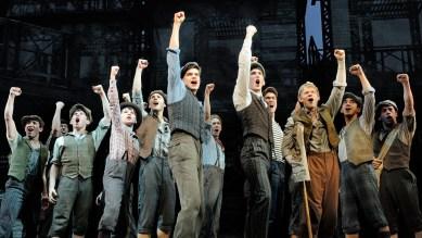 Newsies on Broadway