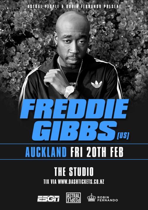 Freddie Gibbs Auckland Studio