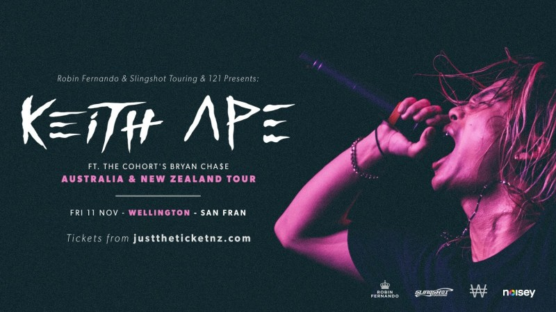 Keith Ape San Fran Wellington