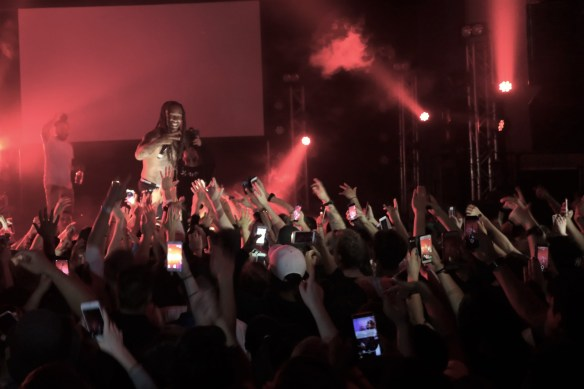 Ty Dolla $ign Shed 6 Wellington Campaign Tour Crowd Surf