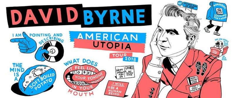 David Byrne American Utpia