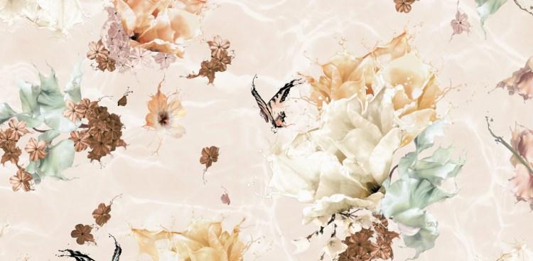 Boho butterfly wallpaper