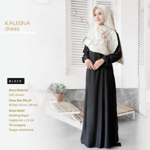 Kaleena Dress Hitam