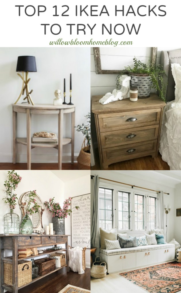 Top 12 Ikea Hacks To Try Now Willow Bloom Home