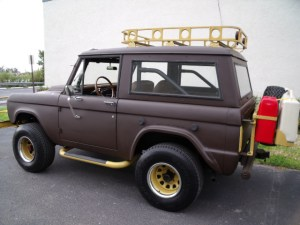 1968 Bronco - BUG OUT VEHICLE with Cargo Rack