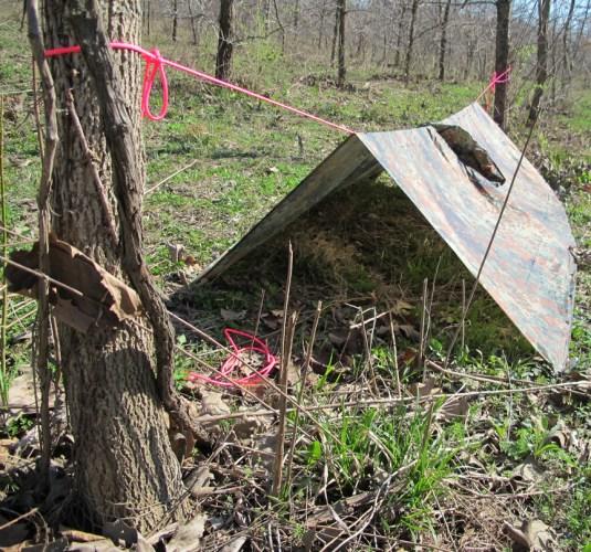 poncho-tent-inside
