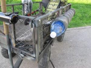 Bottled Water in Storage Tube