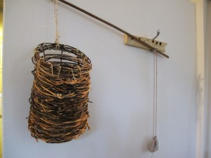 Willow Basket & Willow Hand Drill