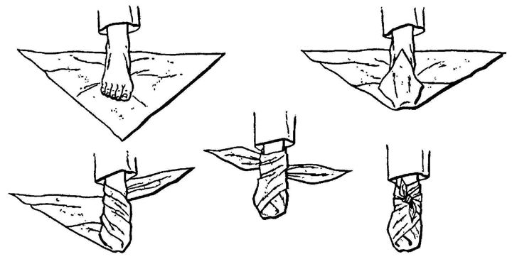 Cravat Bandaging: Series Post 3