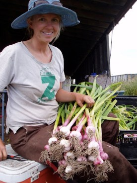 Fresh garlic!