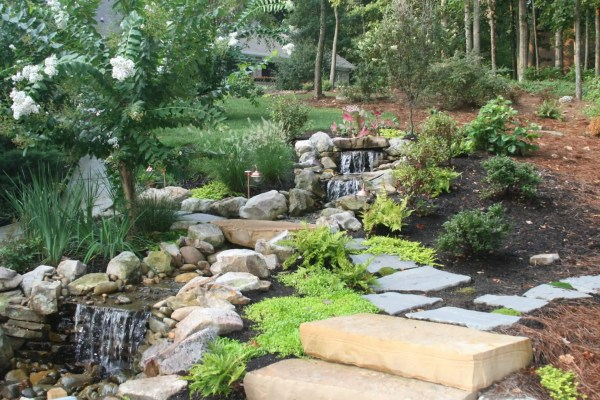 hot garden trends hardscapes