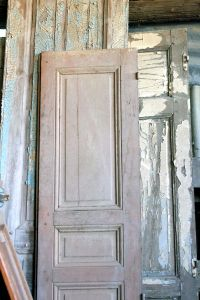 Tongue in Cheek - Old French Doors and Shutters