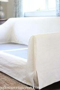 IKEA Farlov Slipcovered Sofa Review {And Washing Tips}