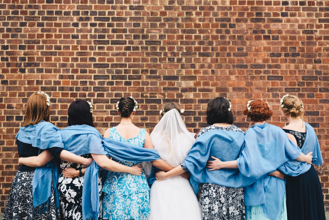 Bussey building wedding photography