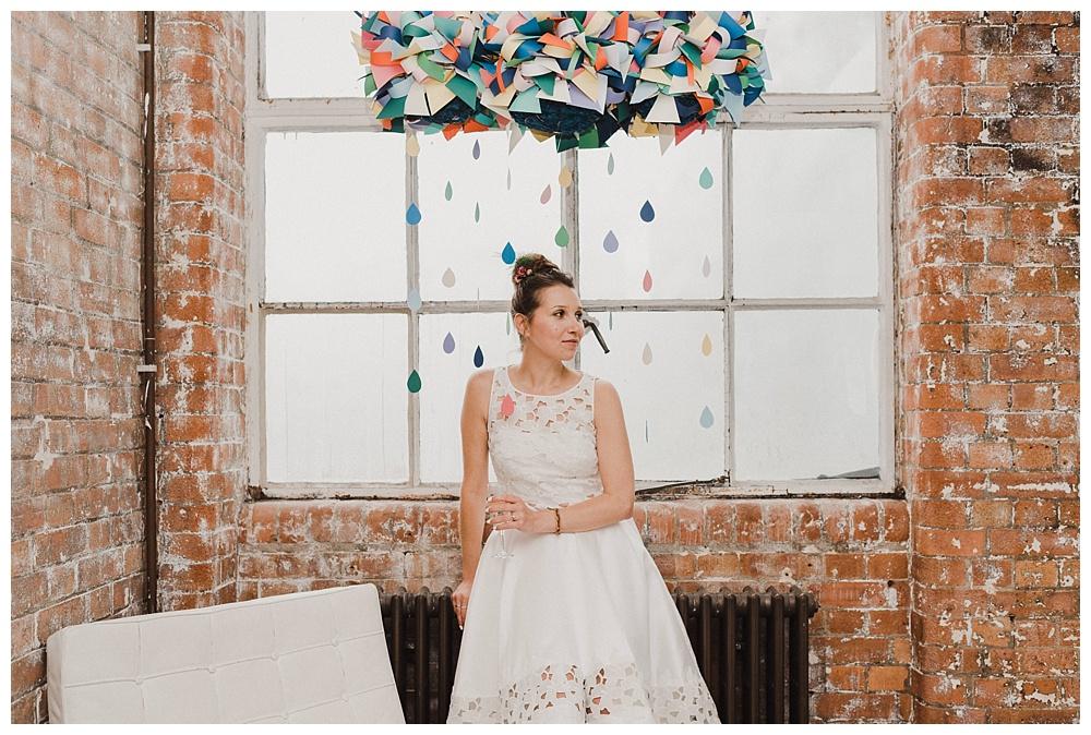 Bride portraits JJ Wimborne Wedding Photography