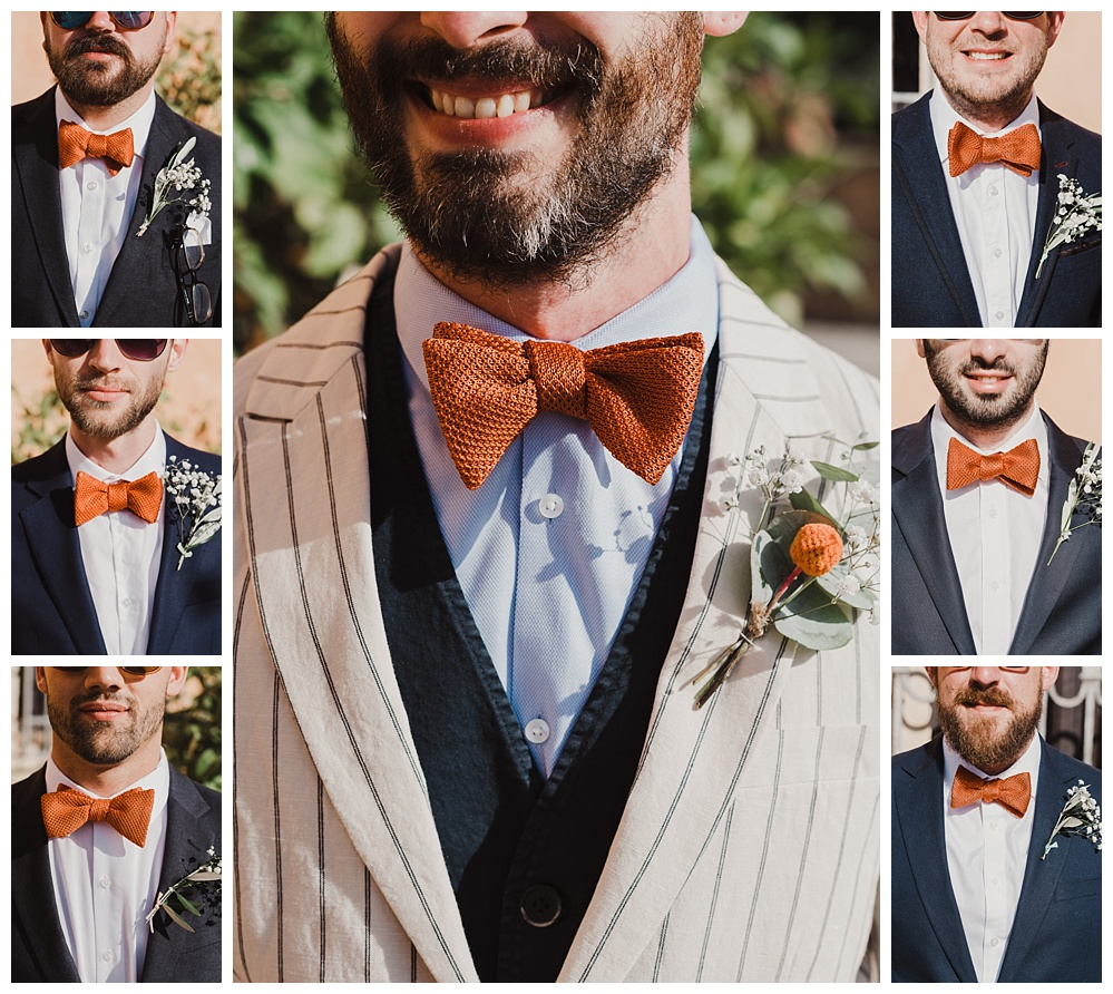 Italian wedding groomsmen bowties
