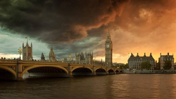 Palace Of Westminster - London Framed Unframed