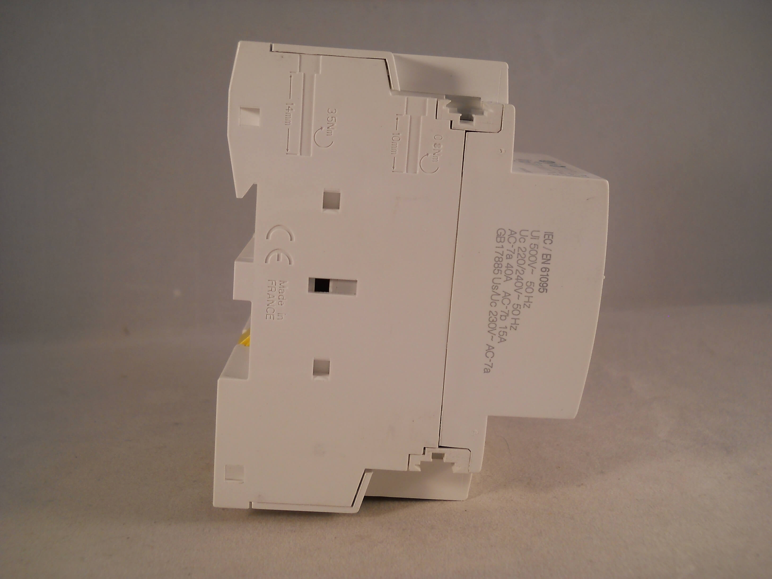 schneider ict 25a contactor wiring diagram fisher paykel dishwasher parts 40 amp 4 pole 240vac coil n o acti 9