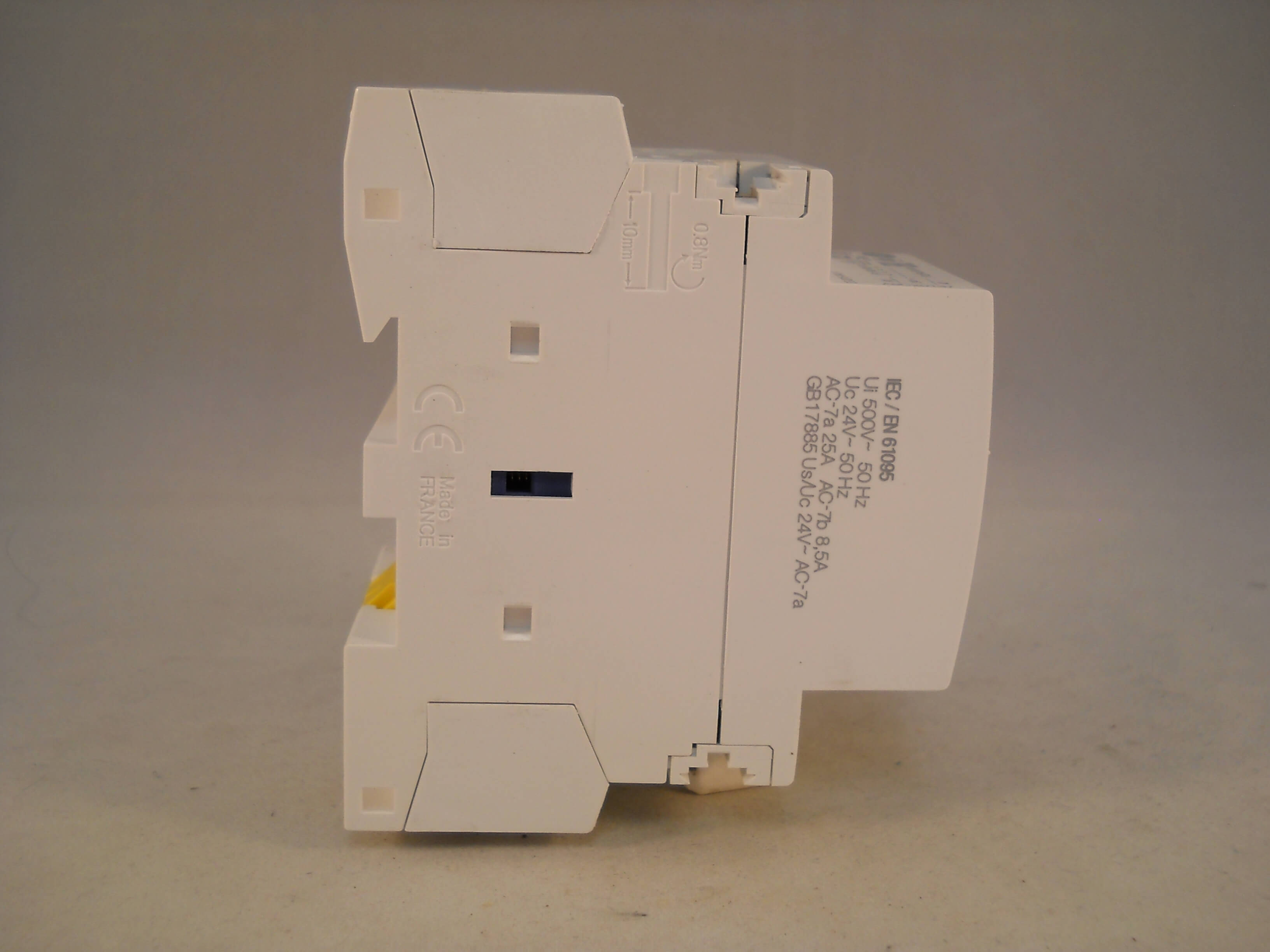 schneider ict 25a contactor wiring diagram coleman furnace gas 25 amp 4 pole 24vac coil n c acti 9