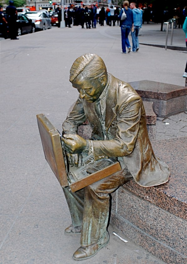 Guest Post Larger-life Figures And Sculptures Seward Johnson Grounds Sculpture