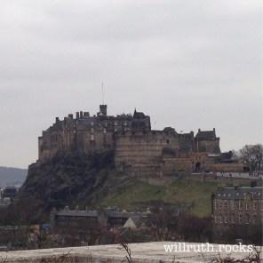 Edinburgh Castle, wo sich 1745 die Engländer eingeigelt hatten, als die Jacobite Army Edinburgh besetzte