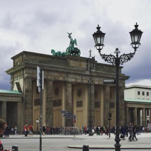 Brandenburger Tor im Nicht-wirklich-Sommer-Wetter ☔️