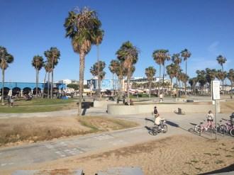Radweg zwischen Venice und Santa Monica