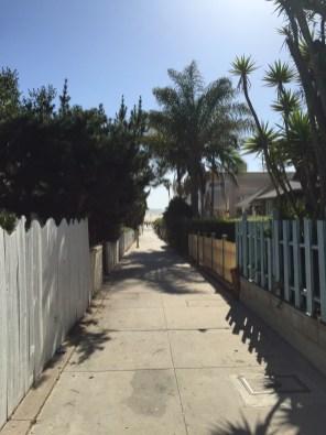 Fußweg runter zum Strand