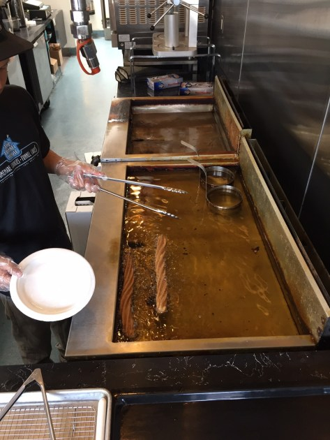 Weltbester Churro in Produktion