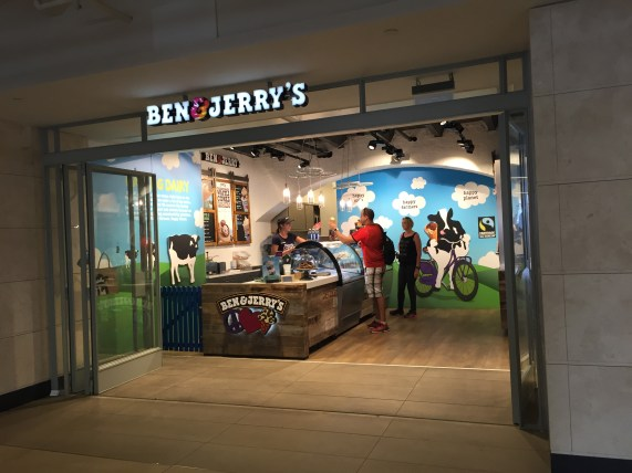 Ben & Jerry's @ Amsterdam Centraal