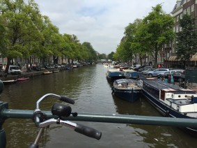 Stereotypical view of Amsterdam