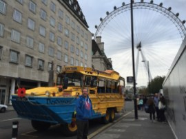 London Duck Tours vor London Eye