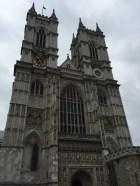 Westminster Abbey Froschperspektive