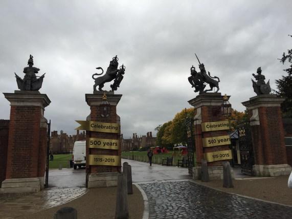 500 Jahre Hampton Court!