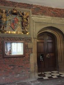Eingang zu The Chapel Royal
