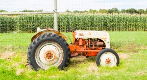 wills family orchard farm tractor vintage corn planter