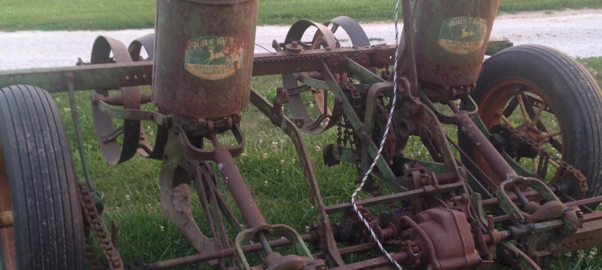 Our 1940s Planter & Corn Maze