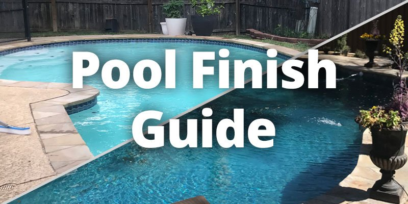 different pool finishes