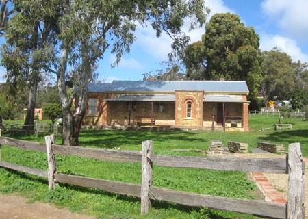 Willunga Courthouse 1855, SA, Australian Courthouses