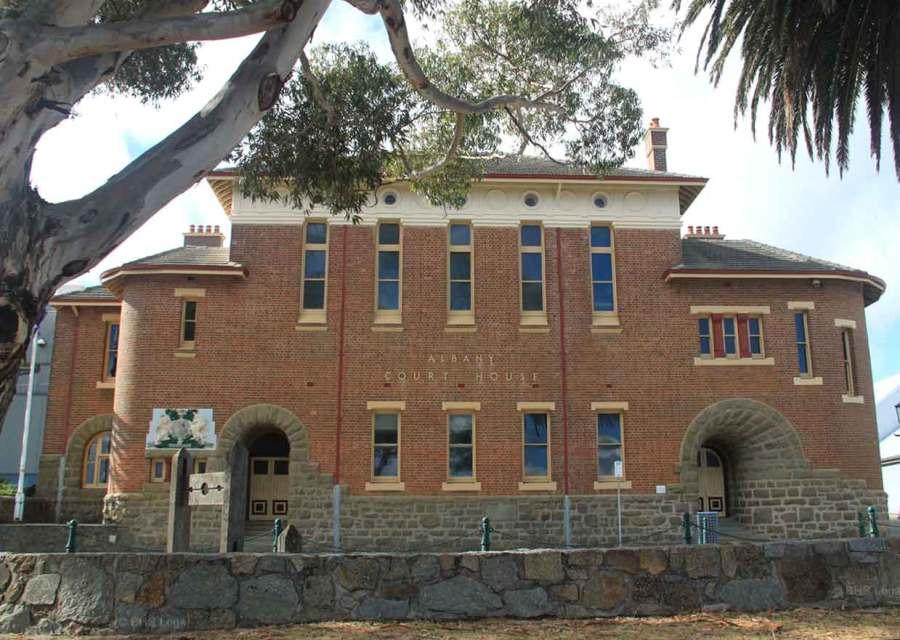 historic Australian courthouses, Albany, Western Australia