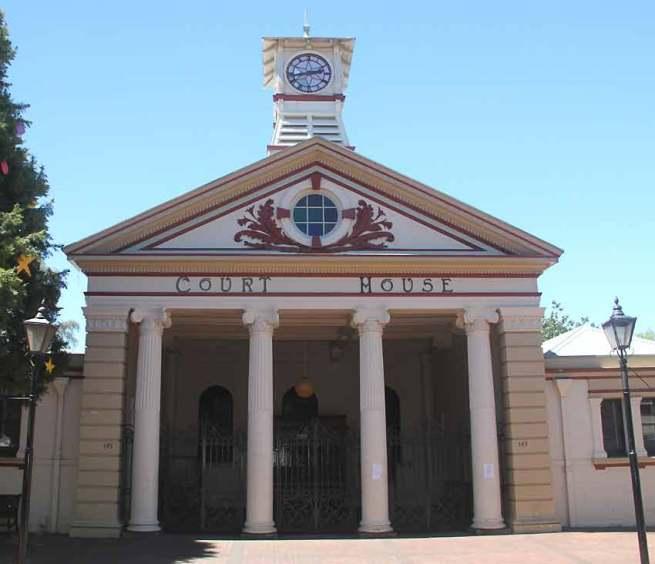 Armidale Courthouse, old Australian courthouses, early Australian Courthouses