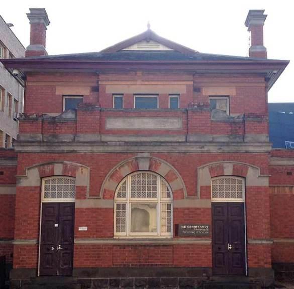 old Ballarat Courthouse, old Australian Courthouses, early Australian courthouses