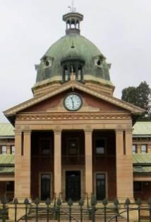 Bathurst Courthouse, Australian courthouses, old Australian courthouses, early Australian courthouses, colonial Australian courthouses, James Barnet