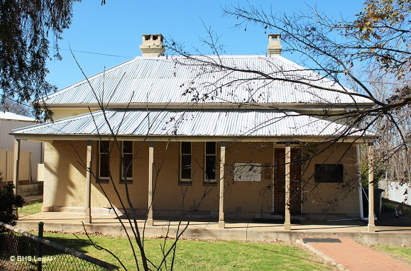 old Coolah Courthouse, NSW, early Australian Courthouses, Colonial Australian Courthouses, Australian legal history,