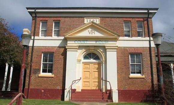 Crookwell Courthouse, old Australian courthouses, early Australian courthouses