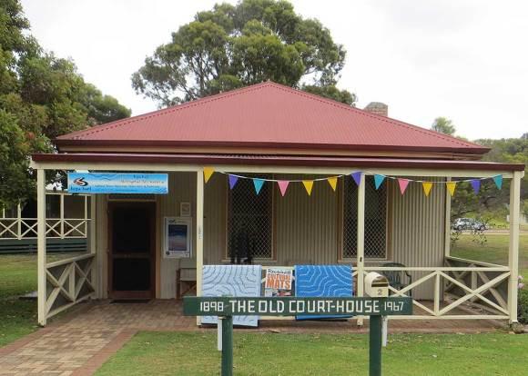 old Esperance Courthouse, Western Australia, early Australian courthouses, old Australian courthouses, Australian legal history, Esperance
